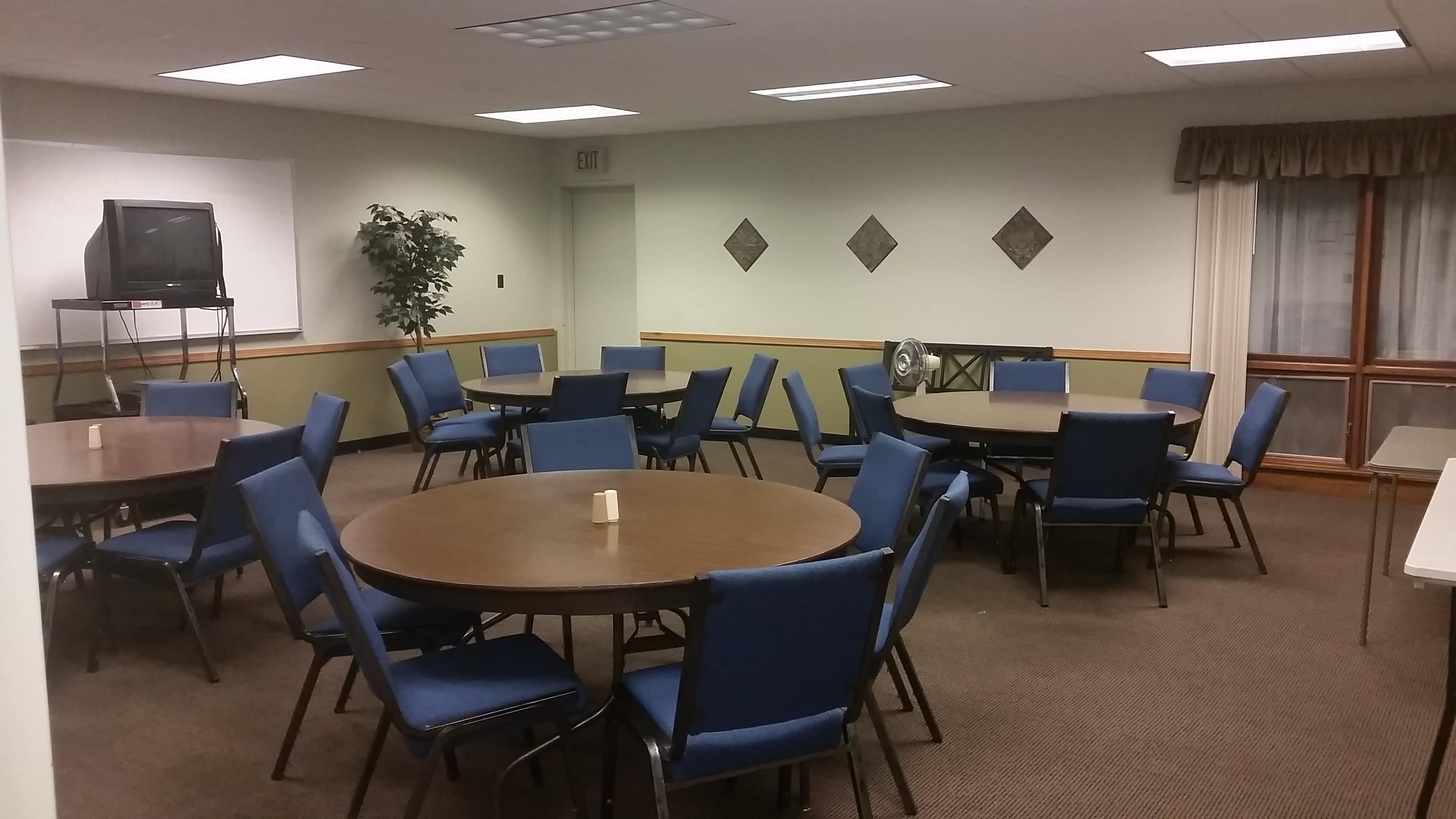 Meetings and Small Groups Calvin Room is Perfect!